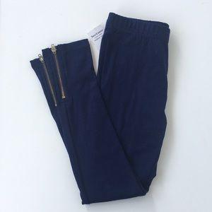 NWT Juicy Couture Zipper Bottom Leggings
